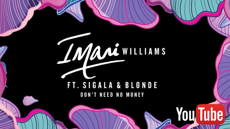 Imani Williams feat. Sigala & Blonde - Don't Need No Money
